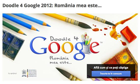 Cu ocazia zilei de 1 Decembrie, Google organizeaza un frumos concurs destinat copiilor