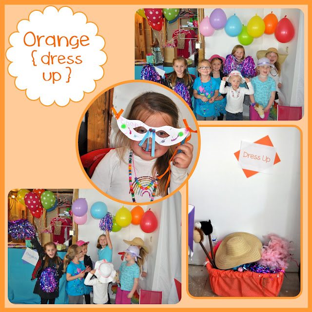 Rainbow Activities {dress up}