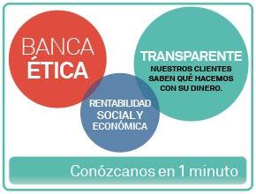 Nuestro dinero está en Banca Ética