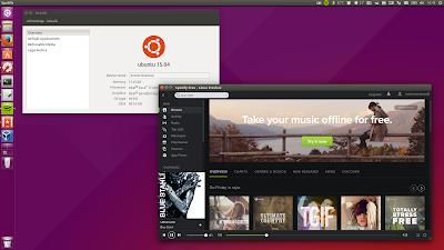 Spotify Ubuntu 15.04