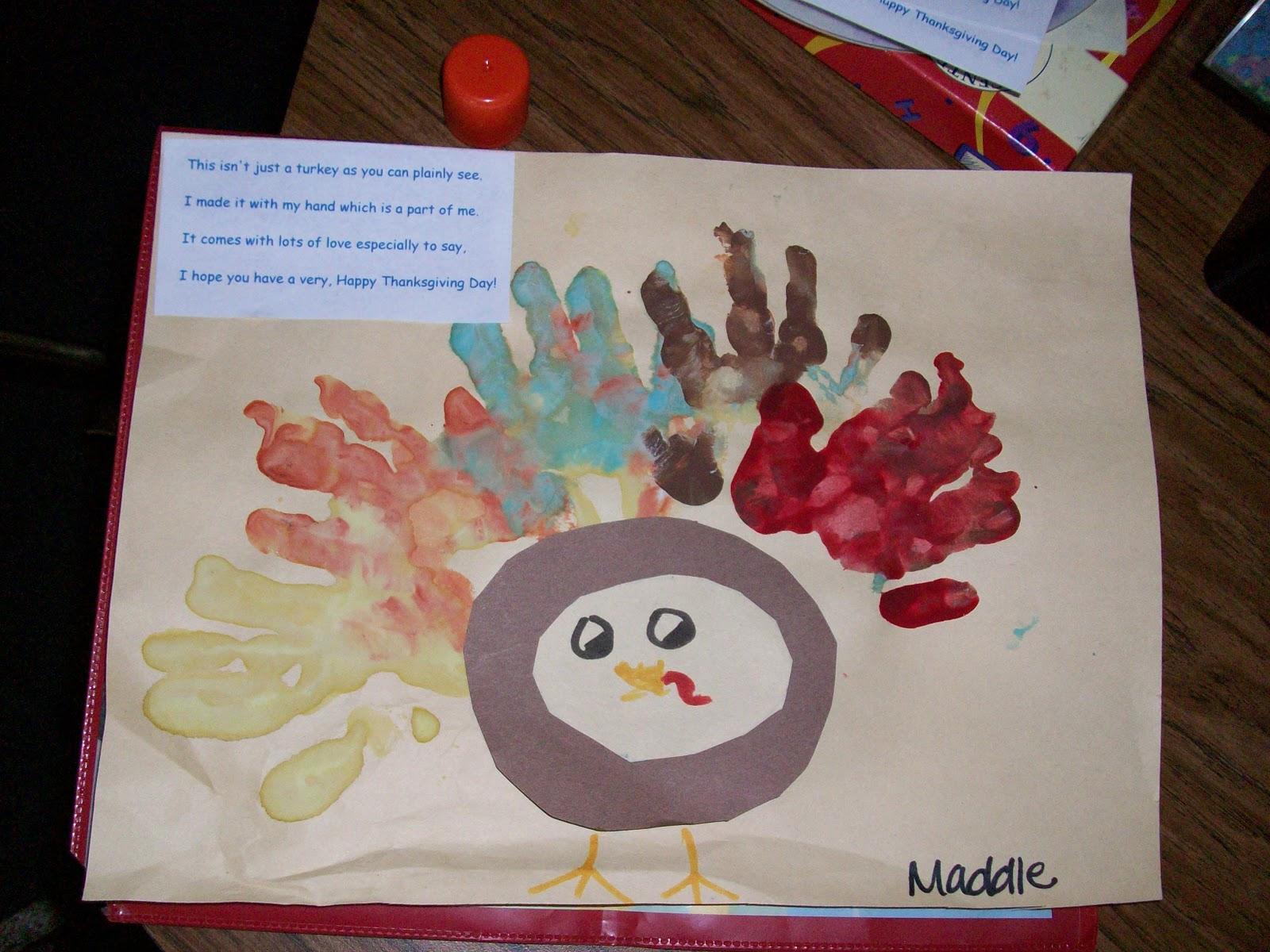 Mrs hilburn 39 s pre k class thanksgiving crafts horseback for Pre k turkey crafts