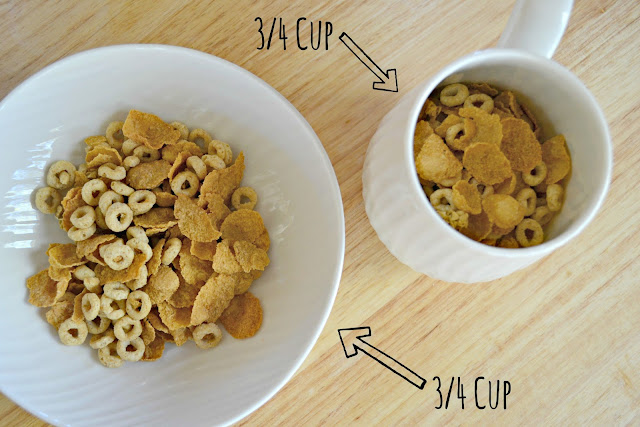 MommyTesters easy breakfast from Safeway Vons #cbias #BreakfastSavings cereal portion sizes