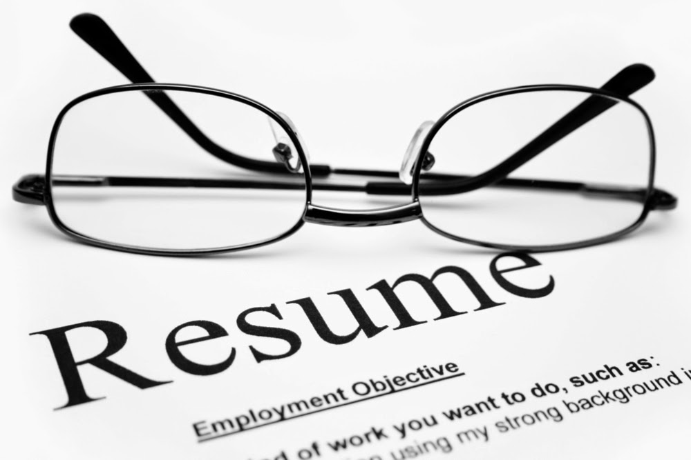 how to write a good resume/CV