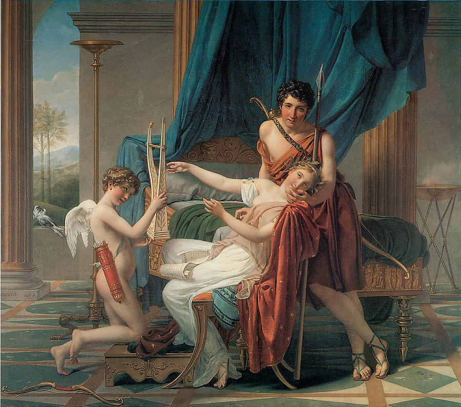 Sappho and Phaon. 1809