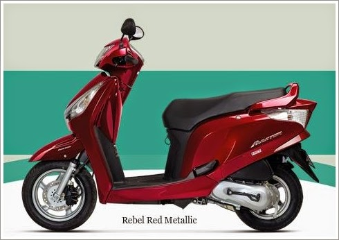 Honda Aviator Red Color