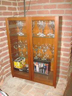 Billy Olsbo 117cm Glass Door