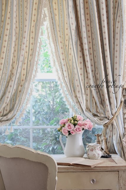 French bedroom curtains