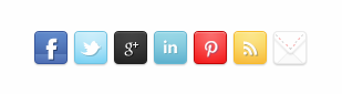 Social networking profile widget for blogger