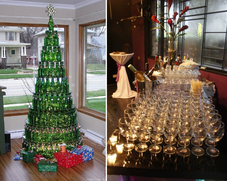 Rsa network bar services for How to make a beer bottle christmas tree