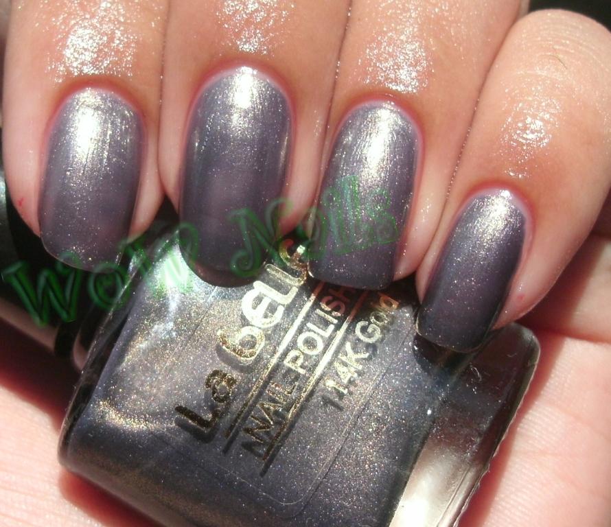 Nail La Belle: WoW Nails: La Belle Nail Polish 14K Gold