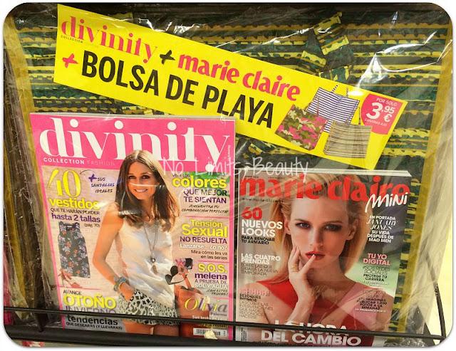Regalos revistas septiembre 2015: Divinity + Marie Claire