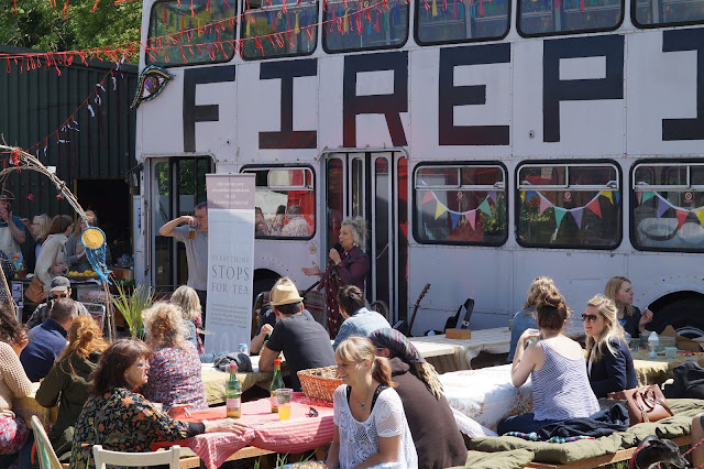 Forgotten Foods Festival Norfolk Fire Pit Campsite Vanessa Scott