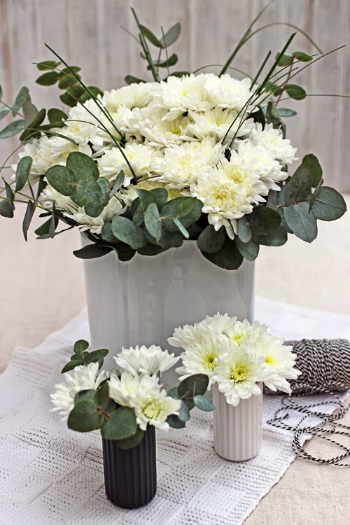 White Chrysanthemums