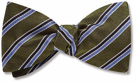 Cadogan bow tie from Beau Ties Ltd.