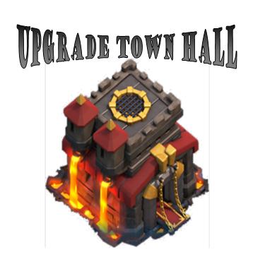 Cara Upgrade Town Hall Sesuai dengan Level di Clash of Clans