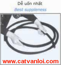 Ống ruột gà thép luồn dây điện CVL dễ uống và đi dây dẫn