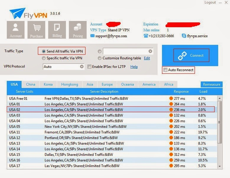 How To Setup USA VPN Server in Windows 7
