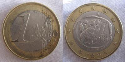 greece 1 euro 2003