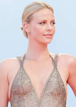 Charlize Theron Breast Migration