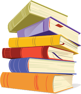 Book stack free png file to download