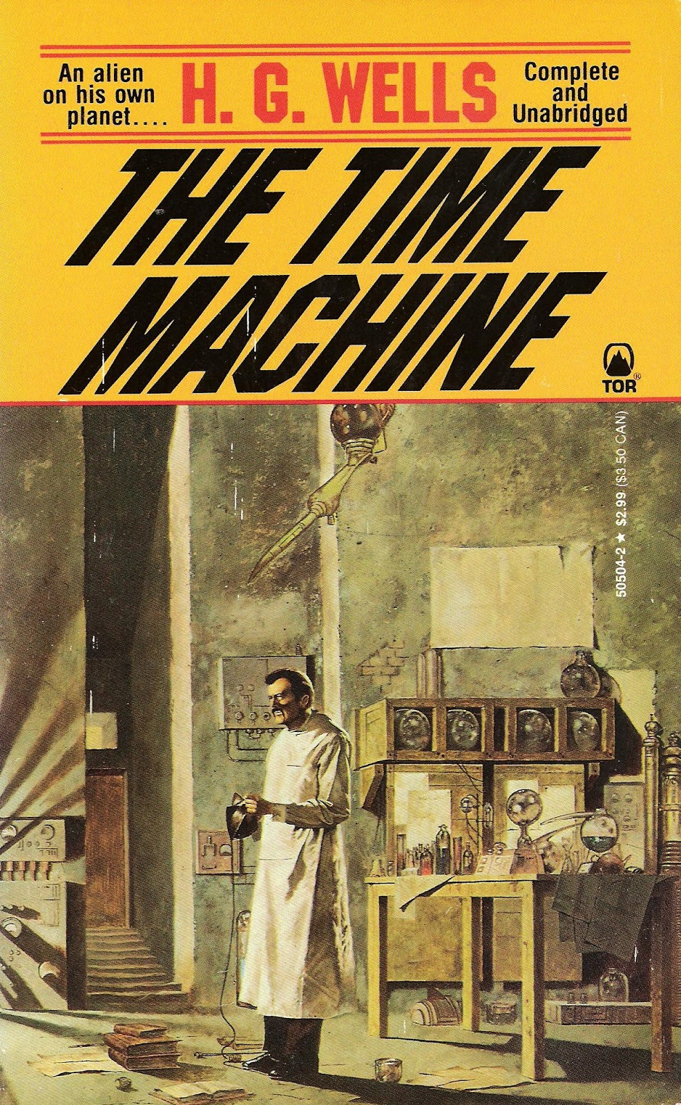 The Time Machine, H.G. Wells – Book Summary