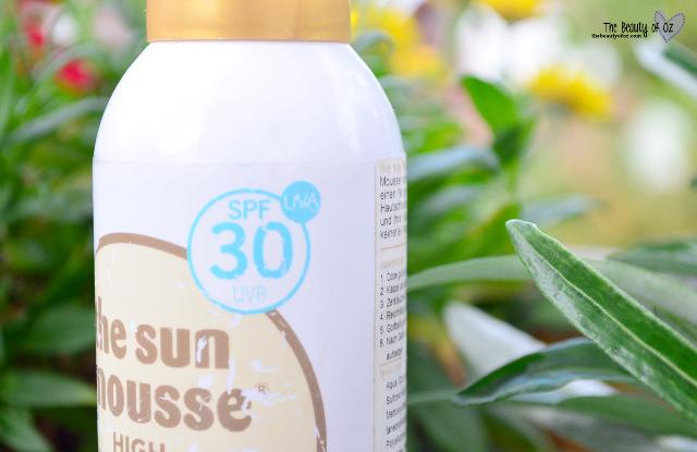 Review The Sun Mousse Sonnenschutz UVA/UVB