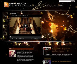 Golden Press WordPress Theme