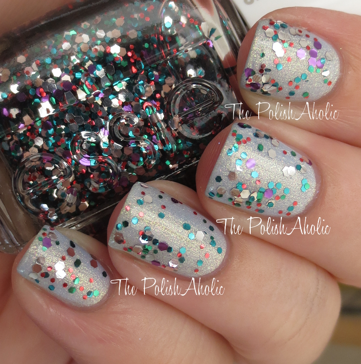 The PolishAholic: Essie Holiday 2013 Luxeffects Collection Swatches
