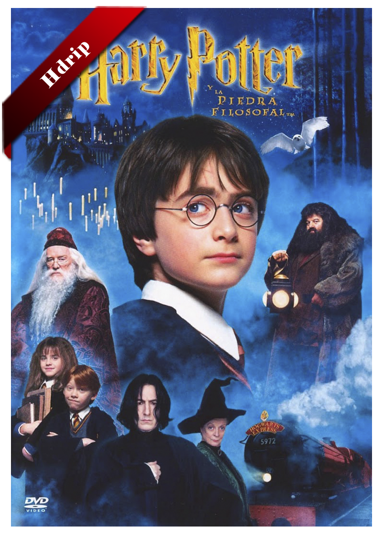 Harry Potter y la Piedra Filosofal Hdrip Castellano 2001