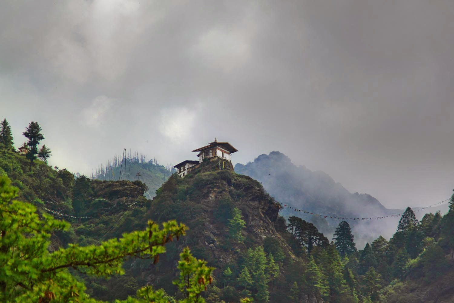Monsoon in Bhutan