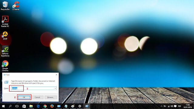 Mengetikkan perintah untuk mengetahui spesifikasi laptop windows 10