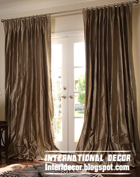 Curtains Ideas contemporary curtain : 5 Contemporary curtain designs with drapes colors