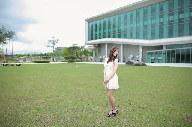 5 Choi Byeol Ha in White - very cute asian girl - girlcute4u.blogspot.com