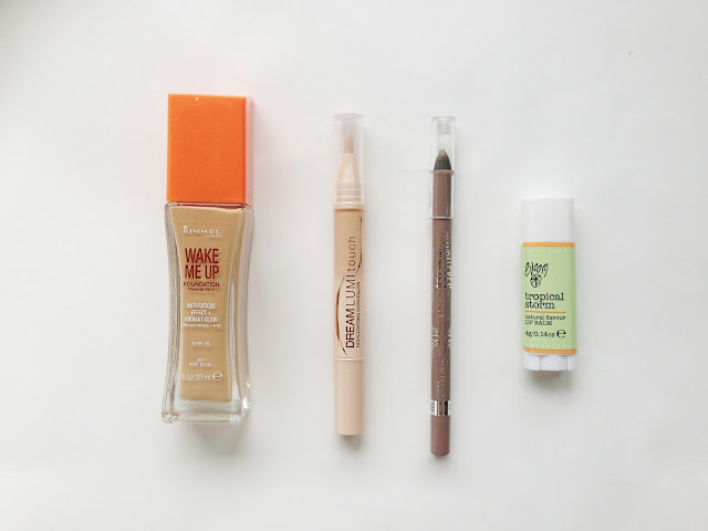 june, hauls, twoplicates, beauty blog, review,rimmel wake me up foundation, maybelline dream lumi touch concealer, scandal eyes, bloom, lipbalm