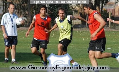 Entrenamiento Gimnasia de Jujuy