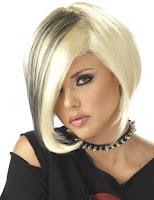 Blond cu suvite negre