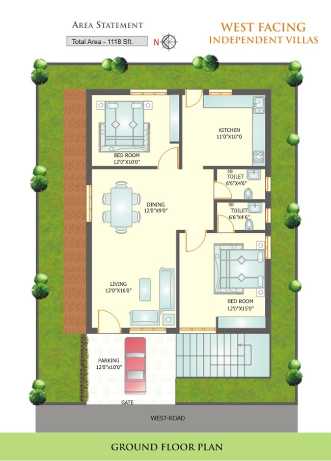 Vastu layout plan for west facing-Indiajoin