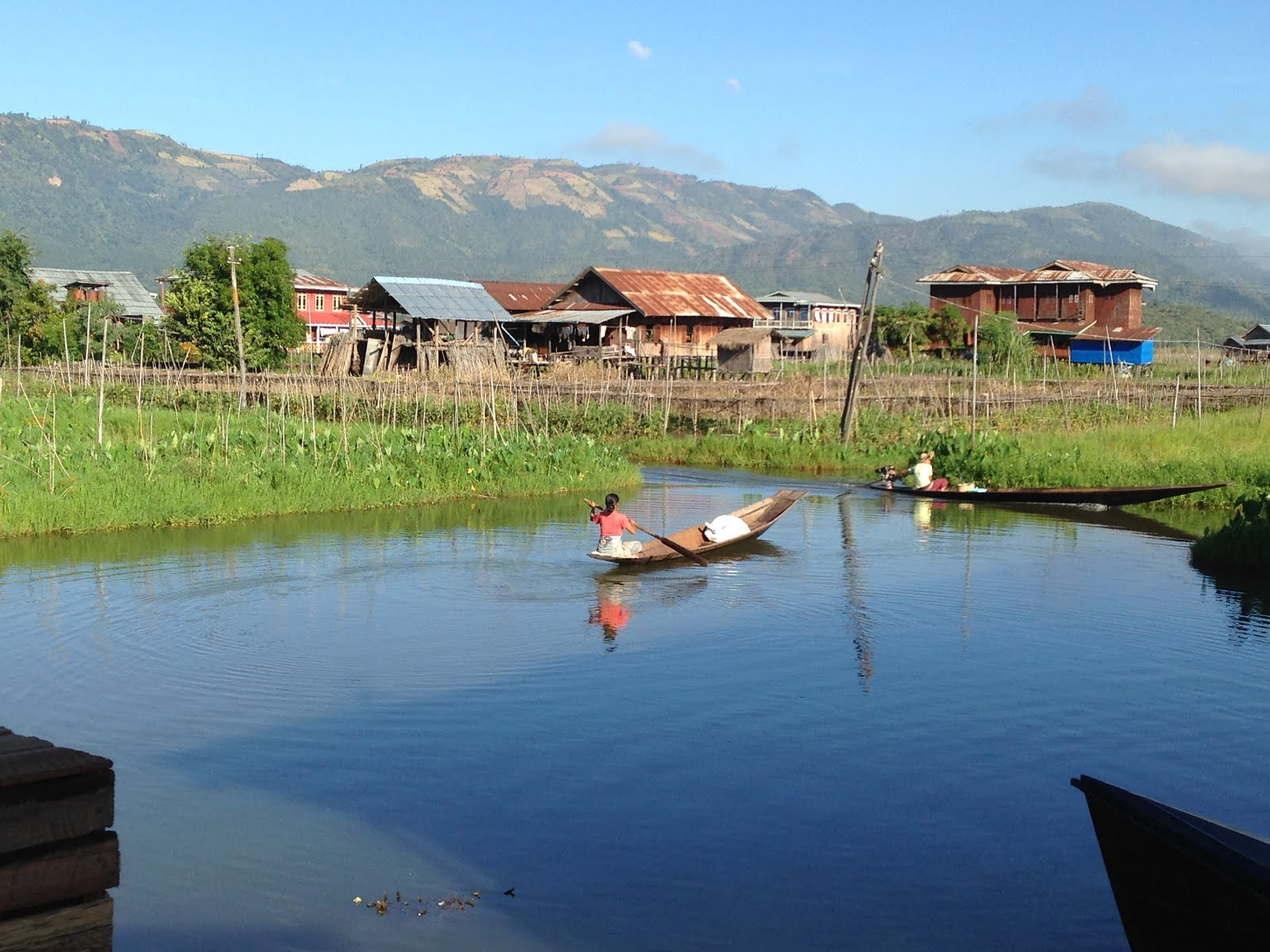 Stilt village, Inle Lake