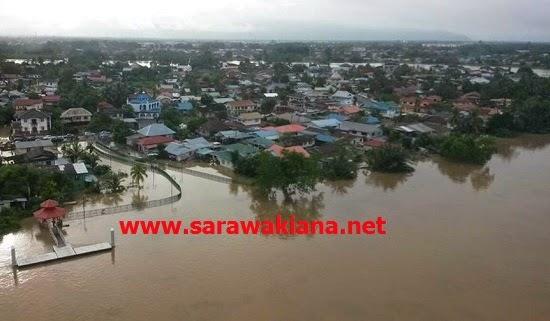 Info Terkini Mangsa Banjir Di Sarawak Setakat Jam 8 Malam Hari Ini