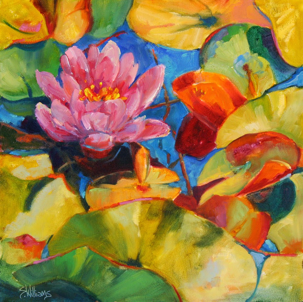 Sharon lynn williams 39 art blog lily pond le vieux for Sharon williams paint