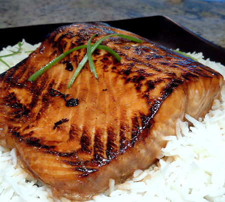 e Perfect Bite Asian Style Glazed Salmon
