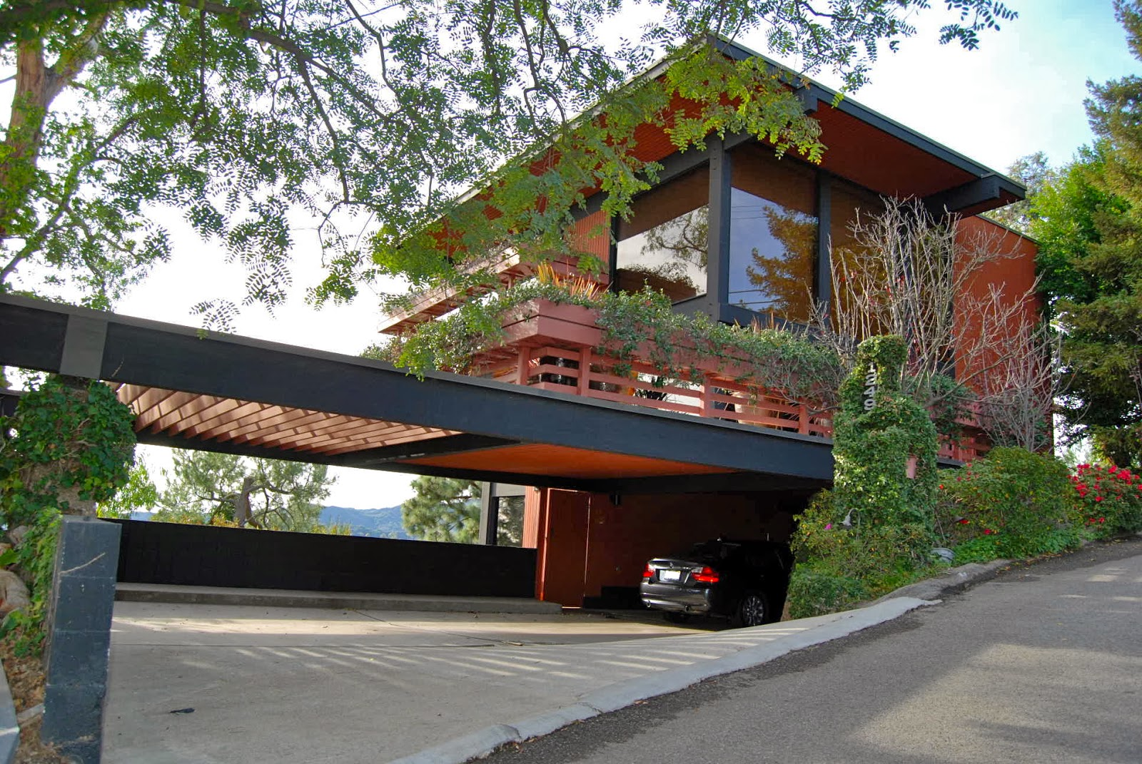 Modern Homes With Carport : Excellent house in the world modern homes losangeles