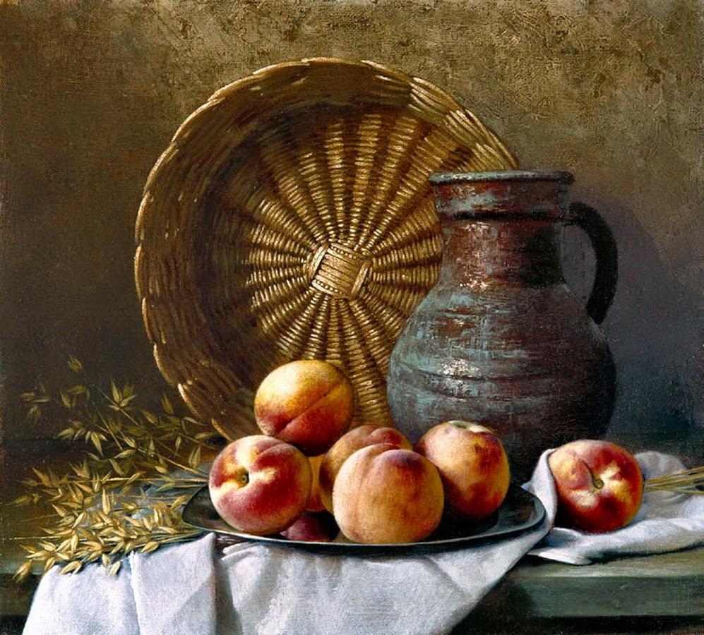 cuadros-realistas-bodegones-de-manzanas
