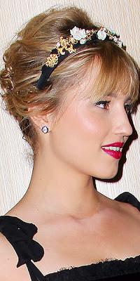 Model Gaya Rambut Dianna Agron