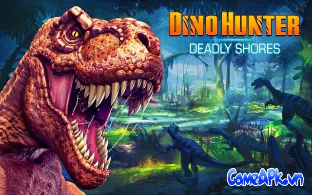 DINO HUNTER: DEADLY SHORES v1.2.0 hack full tiền cho Android