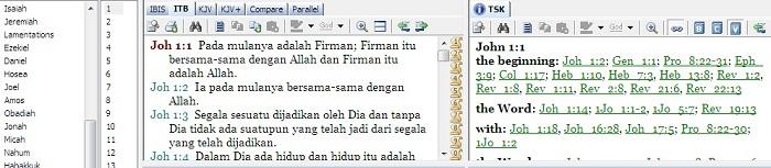Alkitab bahasa Indonesia terjemahan baru
