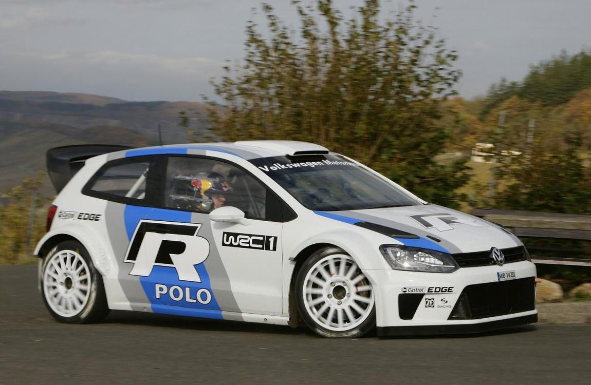 Volkswagen Polo R WRC 2013 (Prototype) Front Side 1