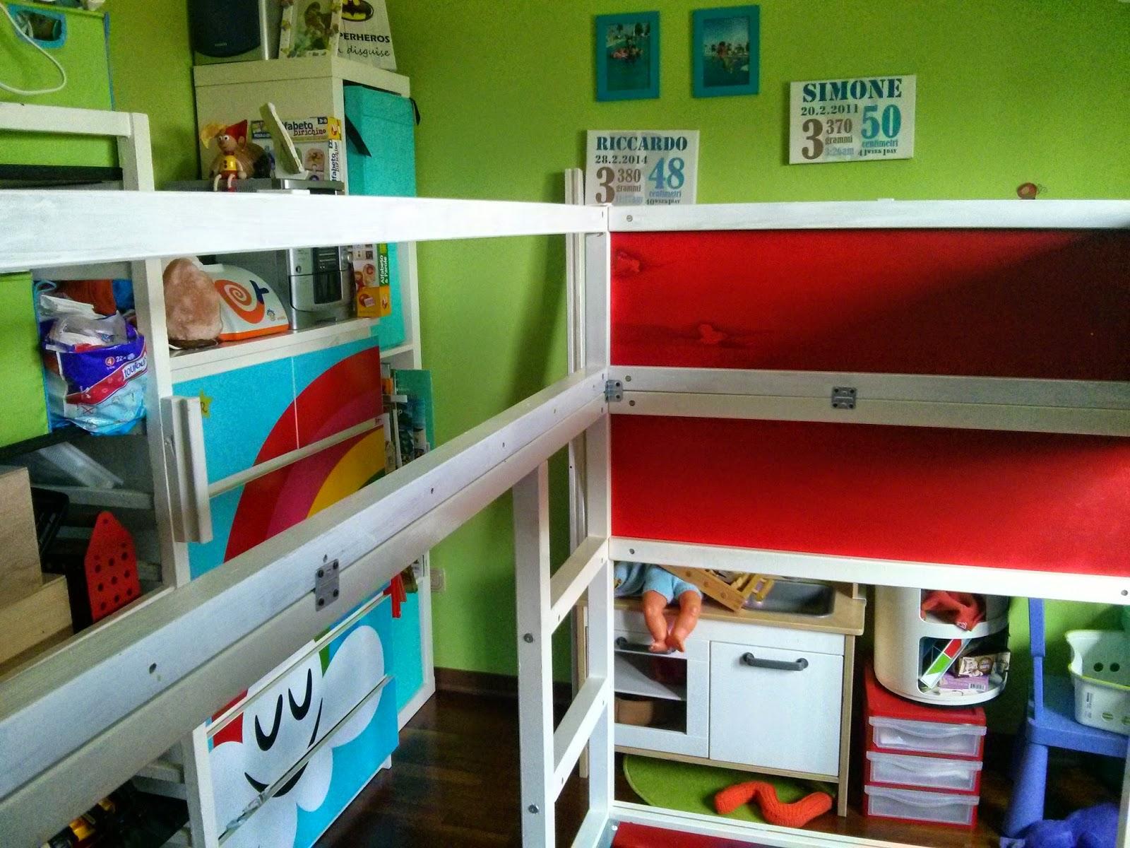 Letto kura ikea idee diy a castle bunk bed letto a for Letto hemnes usato