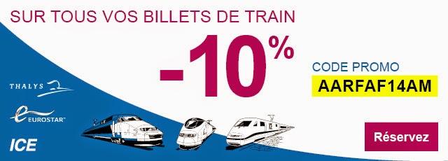 Code Promo Thalys SNCB