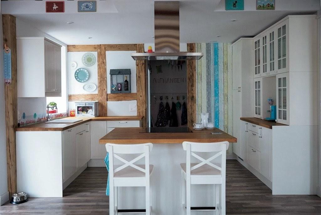 Inspiration shabby: a casa di una famiglia creativa con ikea